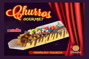 CHURROS GRANULADO COLORIDO