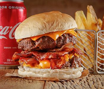 Combo Duplo Cheddar Bacon