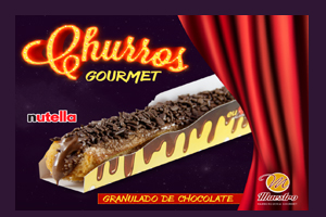 CHURROS GRANULADO DE CHOCOLATE